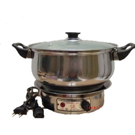 Kompor Electric jual q2 9022 electric heating pot 22 cm kompor listrik