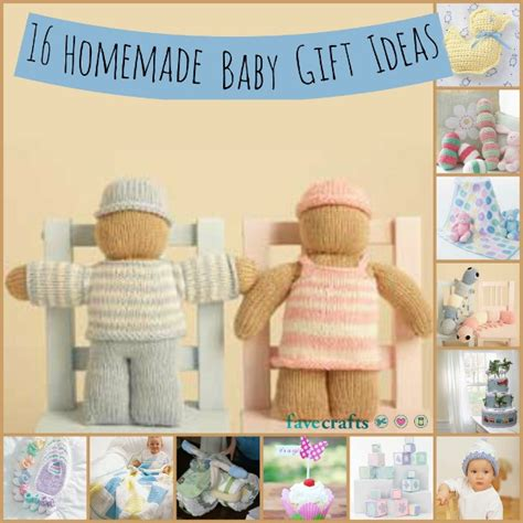 Handmade Presents Ideas - 16 baby gift ideas favecrafts