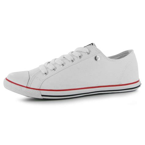 dunlop dunlop canvas low profile trainers