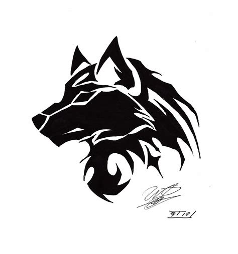 tribal wolf coloring page tribal wolf head drawing coloring pages