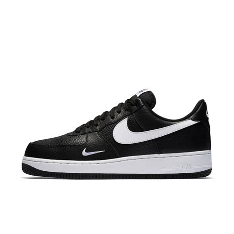 mens nike air 1 low casual shoes s nike casual shoes air 1 low top black white