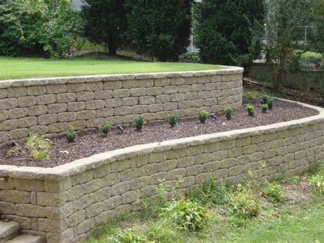 Outdoor Retaining Garden Wall Installation Medina Garden Retaining Wall Designs