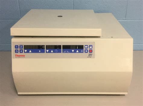 bench top centrifuge refurbished thermo scientific sorvall rt1 refrigerated