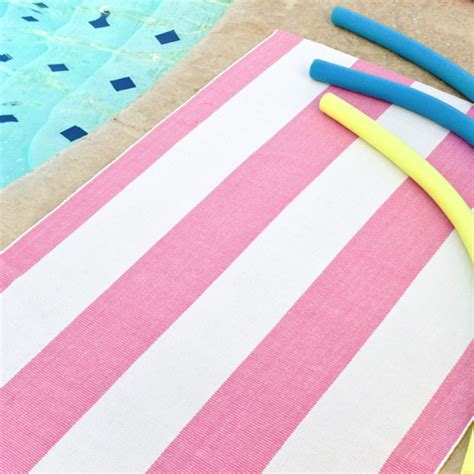 white and pink rug pink and white striped rug rugs ideas