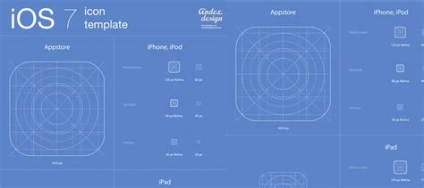 free ios 7 gui kits and templates