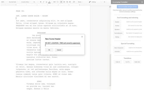 av script template screenplay template clever hippo