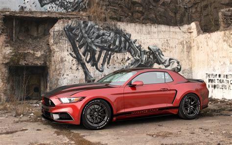 Ford 2016 Notchback by 2017 Ford Mustang Notchback Design By Chris Cyrulewski