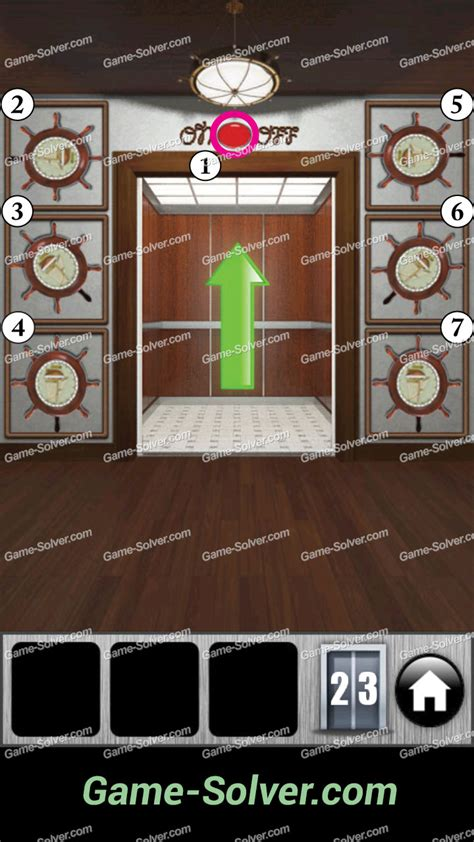 fase 12 doors e rooms horror escape 100 doors e room escape soluzioni 100 doors 2013 level 23