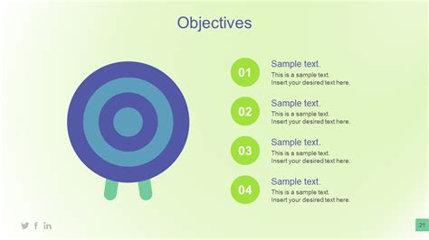 templates for business objectives objectives powerpoint template with bullet points slidemodel