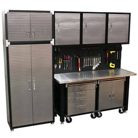 Garage Cabinets Hanging 1000 Ideas About Steel Workbench On