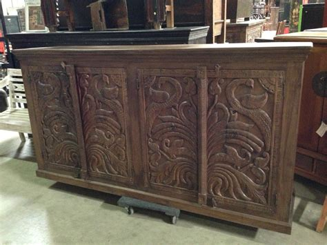Imported rustic sideboards from India, China, Indonesia and Mexico