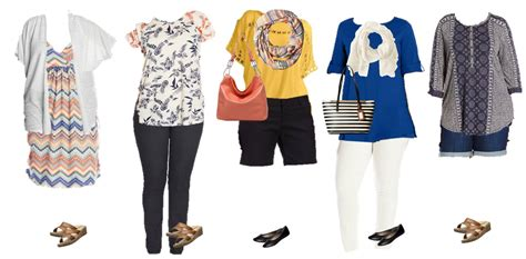 plus size mix and match s mix match plus size summer styles