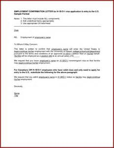 Employment Letter Confirmation Sle Letter For Employment Confirmation Cover Letter Templates
