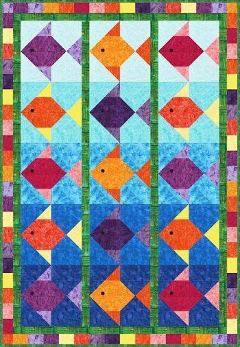 25 best ideas about fish quilt on