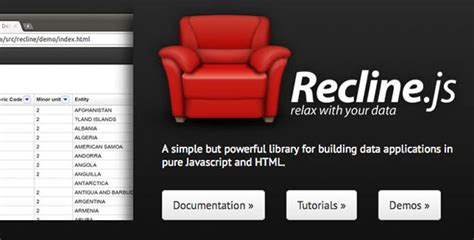 recline js javascript 提高编码效率的15个最新javascript包和工具 csdn博客