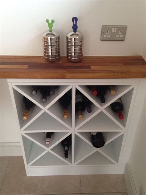 build wine rack cabinet diy wine rack make two of these on either side and one