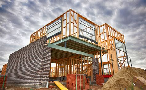 despite record high costs new home construction showed