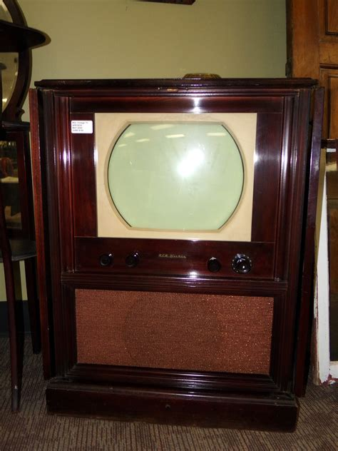 rca victor tv cabinet interesting items curiosity consignment