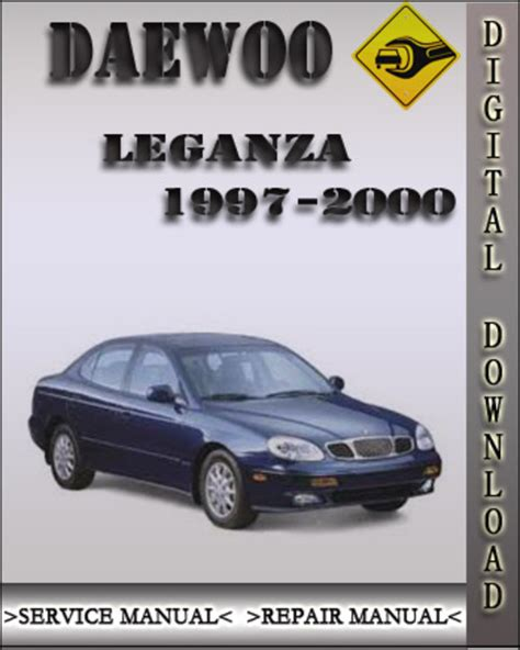 car service manuals pdf 2000 daewoo leganza parking system 1997 2002 daewoo leganza factory service repair manual 1998 1999 20