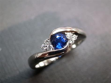 blue sapphire rings rings engagement rings wedding
