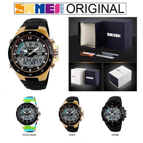 Jam Tangan Casual Skmei Tahan Air jam tangan casual original skmei nf52788 anti air 5