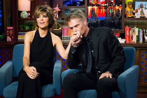 what secret is harry hamlin hiding lisa rinna shares relationship advice from her successful