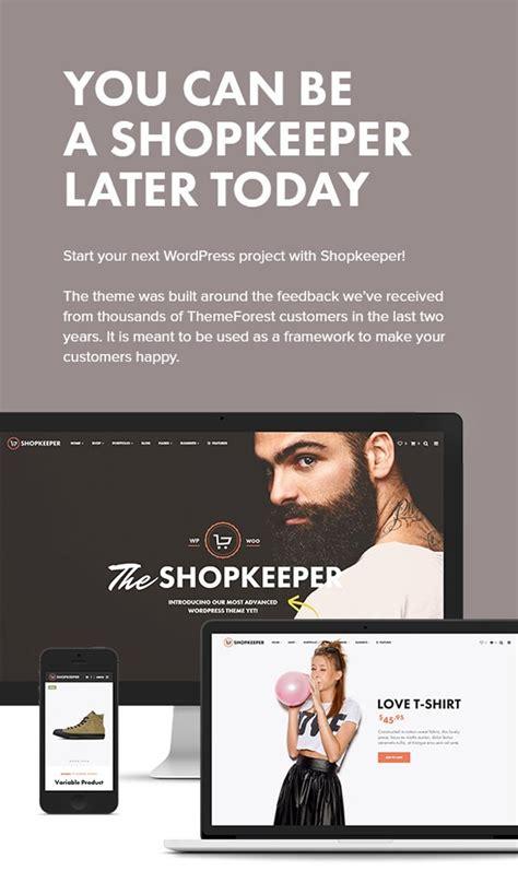 themeforest shopkeeper shopkeeper wordpress theme