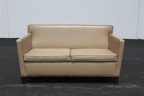knoll krefeld sofa ludwig mies der rohe krefeld leather settee sofa for