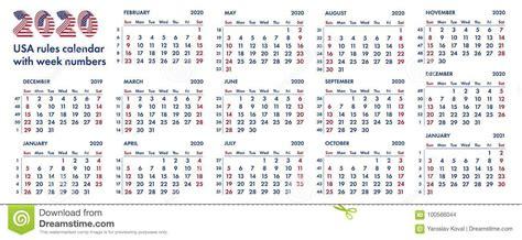 american calendar weeks illustration stock illustration illustration  combinations
