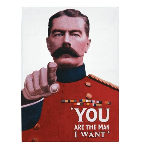 Who Is Lord Kitchener by New You Are The I Want Tea Towel 100 Cotton Lord