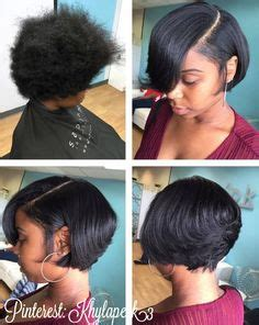 everyday hairstyles for short relaxed hair 39 everyday short hairstyles for black women short