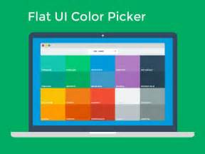 color scheme picker dribbble flat ui color picker by ahmet s 252 lek