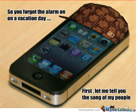 Iphone Alarm Meme - stupid iphone alarm by seaskyways meme center