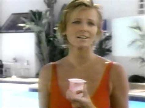 light and lively yogurt cheryl tiegs light n lively free yogurt commercial 1991