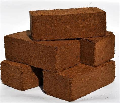 coco peat coco peat bricks in tuticorin tamil nadu india nelsun