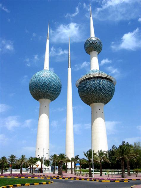 Architectural Style Of House kuwait towers a photo from al kuwait east central