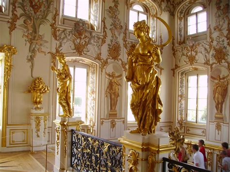 Peterhof Palace Interior Photos file grand peterhof palace staircase jpg wikimedia