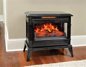Electric Stove Fireplace Comfort Smart Jackson Black Infrared Electric Fireplace