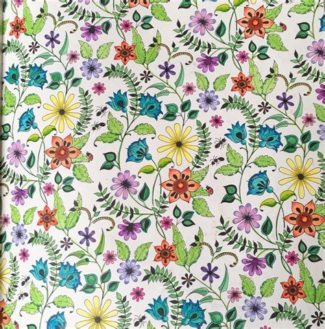 secret garden coloring book markers 1000 images about my finished coloring pages on