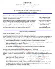 Sample Clerk Resume resume samples professional resume samples in medical records clerk