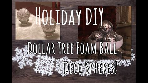 home decor diy dollar tree foam deco spheres the