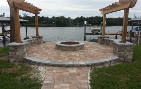 concrete patio designs with pit concrete patio ideas with pit pictures landscaping