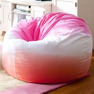 Bean Bag Pottery Barn I Love The Dip Dye Warm Beanbag On Pbteen Com All Things