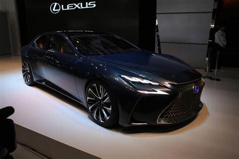 lexus lf fc lexus unveils lf fc fuel cell concept