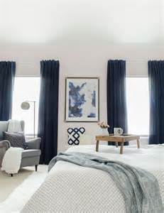 Navy Bedroom Drapes 25 Best Ideas About Navy Curtains Bedroom On