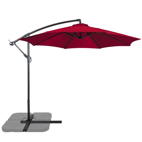10 offset patio umbrella patio umbrella offset 10 hanging umbrella outdoor market