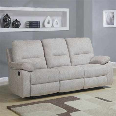 Reclining Sofa With Cup Holders Homelegance Marianna Reclining Sofa W Center Drop Cup Holders Beyond Stores