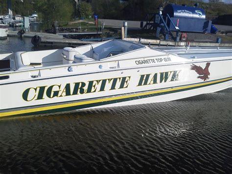 cigarette hawk boat hawk racing team offshoreonly
