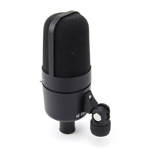 Mic Microphone Krezt K 818 Electret Condenser se electronics x1d kick drum and percussion condenser microphone