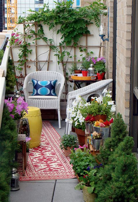 Small Terrace Garden Ideas Balcony Garden Ideas Easy Home Decorating Ideas